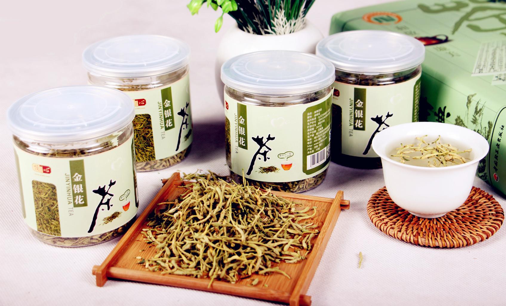 祯心瓶装茶系列-金银花