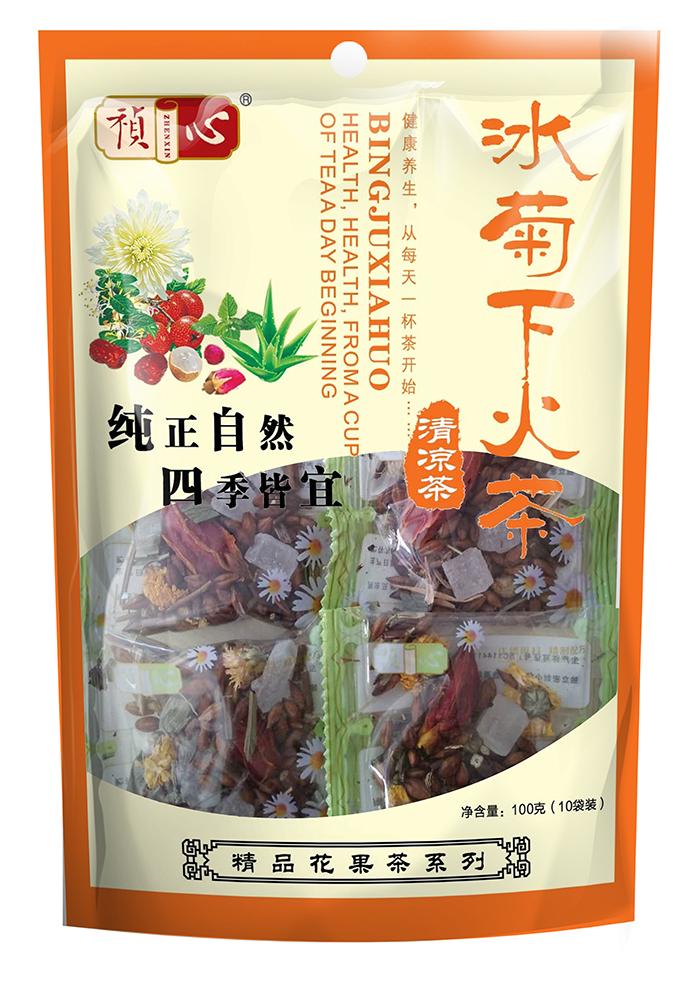 自立袋八宝茶系列-冰菊下火茶