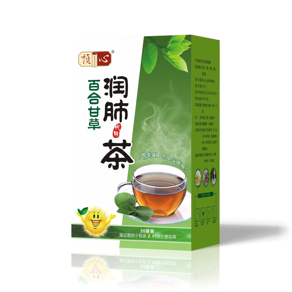 盒装茶系列-润肺茶