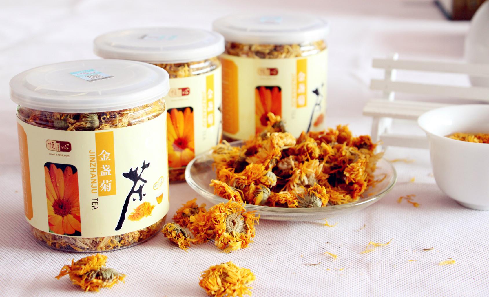 祯心瓶装茶系列-金盏菊