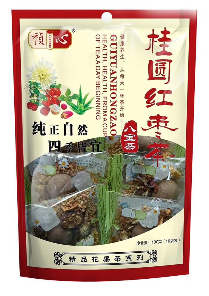 自立袋八宝茶系列-桂圆红枣茶